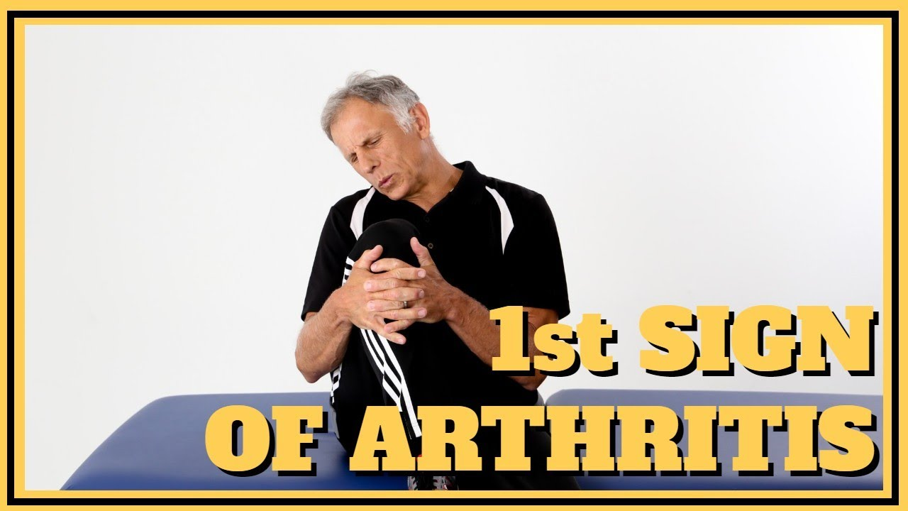 The First Sign You Are Getting Arthritis In Your Shoulder, Hip, or Knee (DYI Test)