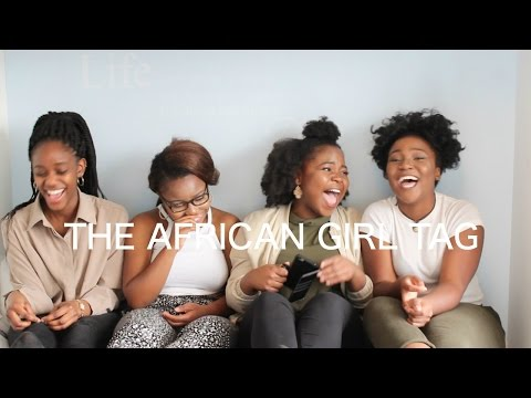 THE AFRICAN GIRL TAG