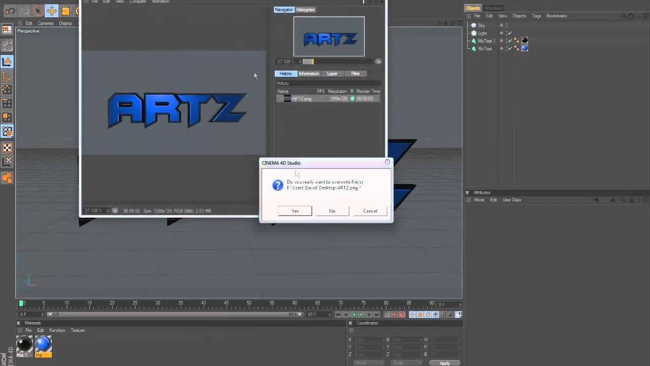 Cinema 4d render background transparent