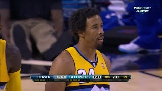 Andre Miller 15 Pts & Anthony Randolph 16 Pts Highlights vs Clippers (2013.10.19) (NBA PRESEASON)
