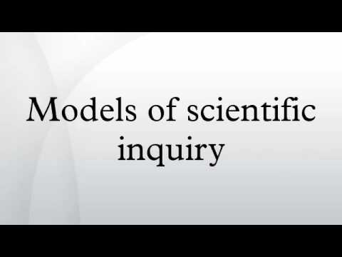 Models of scientific inquiry