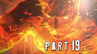 Metal Gear Solid 5 Phantom Pain Walkthrough Gameplay Part 19 - Man on Fire Boss (MGS5)