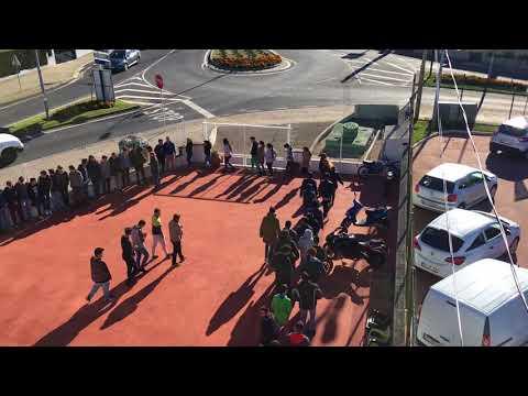 Simulacro de evacuação ETPM - Nov 2017