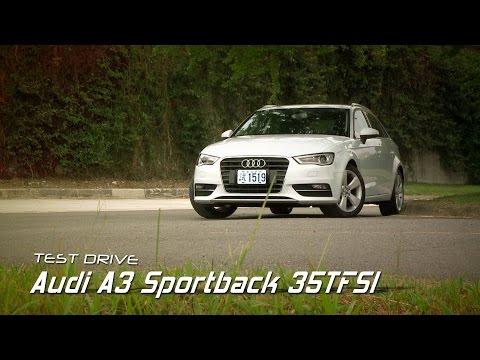 Audi A3 Sportback 35 TFSI 熱血型男 試駕