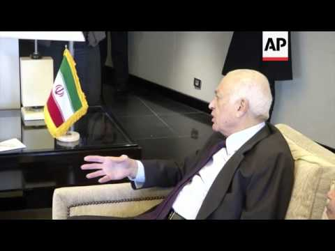 Iranian Foreign Minister Salehi meets Arab League chief Nabil Elaraby