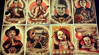 Актёры из фильмов ужасов / Раньше и сейчас. Первая часть
