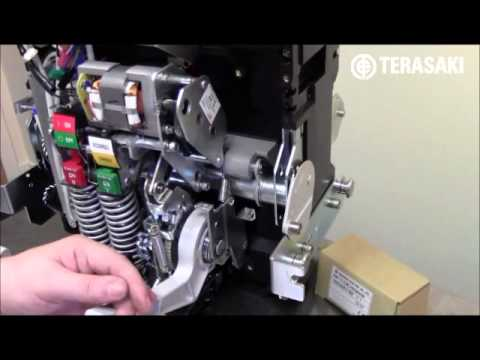 fitting a motor operator on terasaki ar2 acb