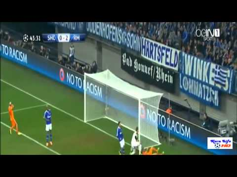 Real Madrid vs Schalke 6 1 ~ All Goals and Highlights  26 01 2014