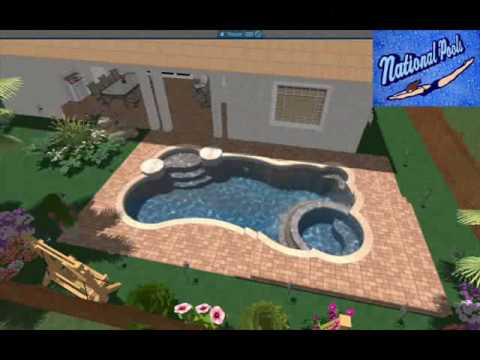 3d swimming pool drawings 3d program national pools of for Pool drawing software