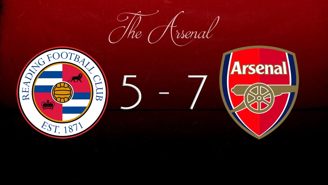 reading 5 7 arsenal 201213 arsenal fc youtube