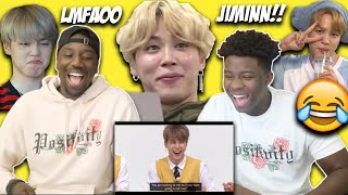 Gambar cover JIMIN BEING PETTY/SASSY AF (REACTION)
