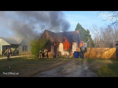 Tulsa FD North Delaware House Fire 3-18-17