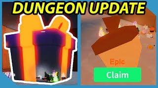 New Dungeon Update In Roblox Unboxing Simulator