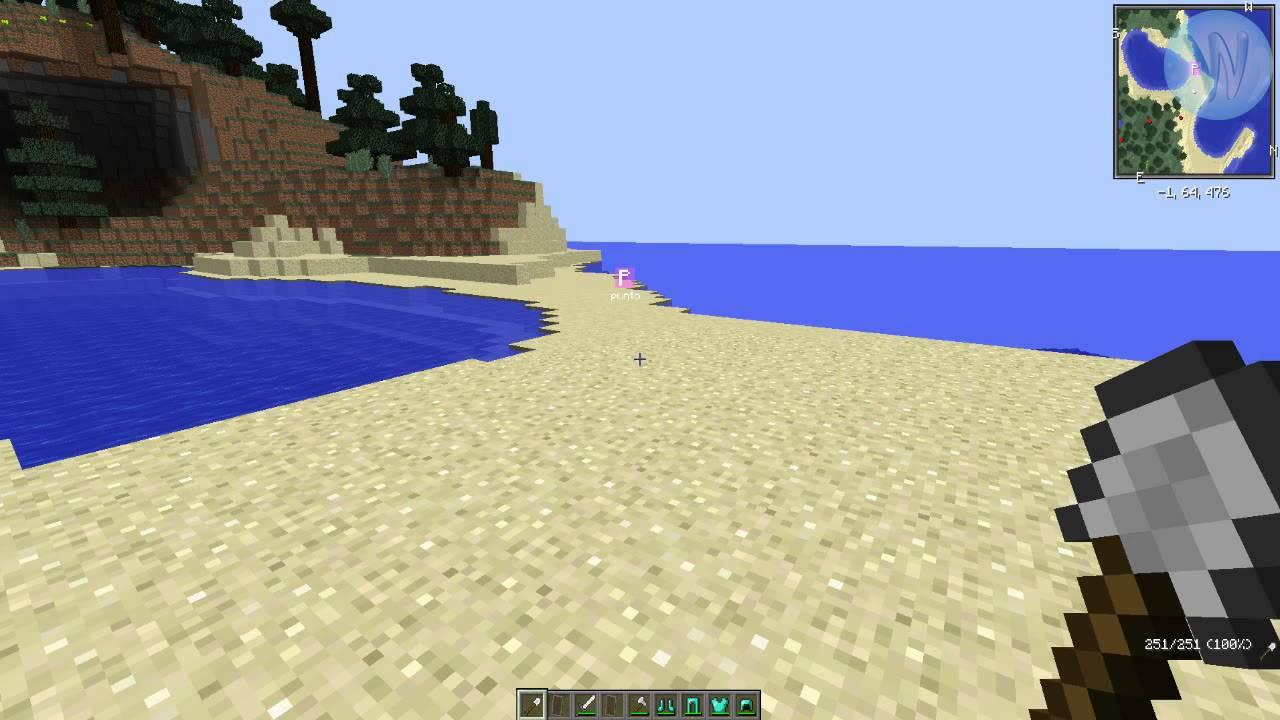 Mods Minecraft Mapa Vide Muerte YouTube - Mapas para minecraft 1 10 2