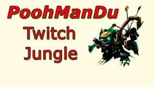 LOL Pro - PoohManDu Twitch Jungle - Korea SoloQ (Full game)
