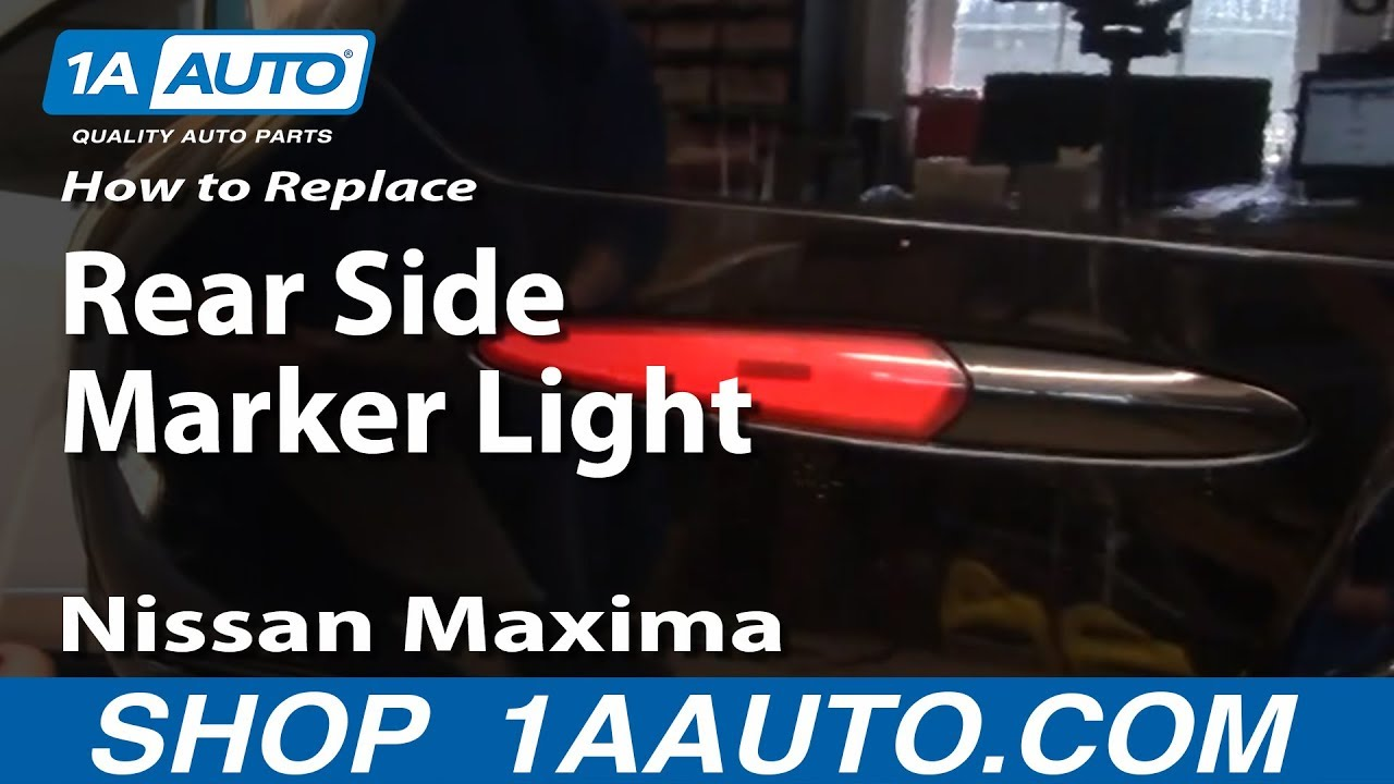 How To Replace Install Rear Side Marker Light 2000 03