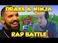 DRAKE & NINJA RAP BATTLE ON FORTNITE! (God's Plan?) - Fortnite Funny Fails and WTF Moments!