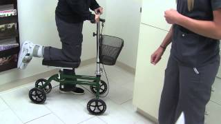 No more crutches! The Roll About Knee Walker for Non-Weight Bearing patients