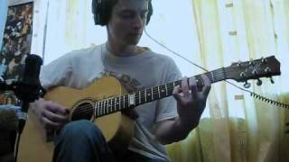 Those Who Wait (cover)  on my Maton
