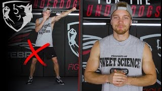 10 Common Shadowboxing Mistakes You Must Avoid