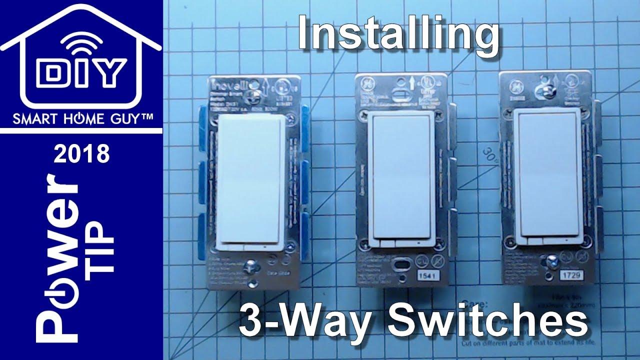 3 way switch installation tip power tip ep 1 [ 1280 x 720 Pixel ]