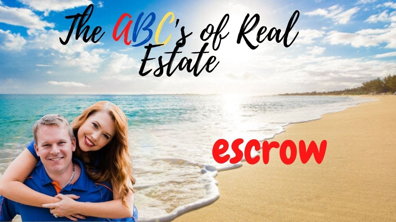 Escrow... is that a real word?