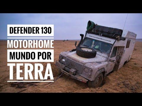 TOUR DEFENDER 130 CAMPER - ROY E MICHELLE MUNDO POR TERRA