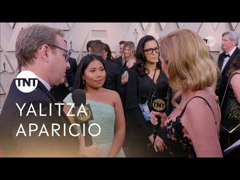 Entrevista a Yalitza Aparicio en la alfombra roja  | #Oscars 2019