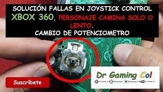 11 - Solución fallas en joystick en control de Xbox 360 - Solution joystick failures