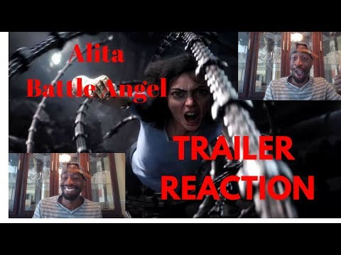 Alita Battle Angel Official Trailer Reaction