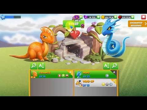 How to breed Berry Dragon - Dragon Mania Legends
