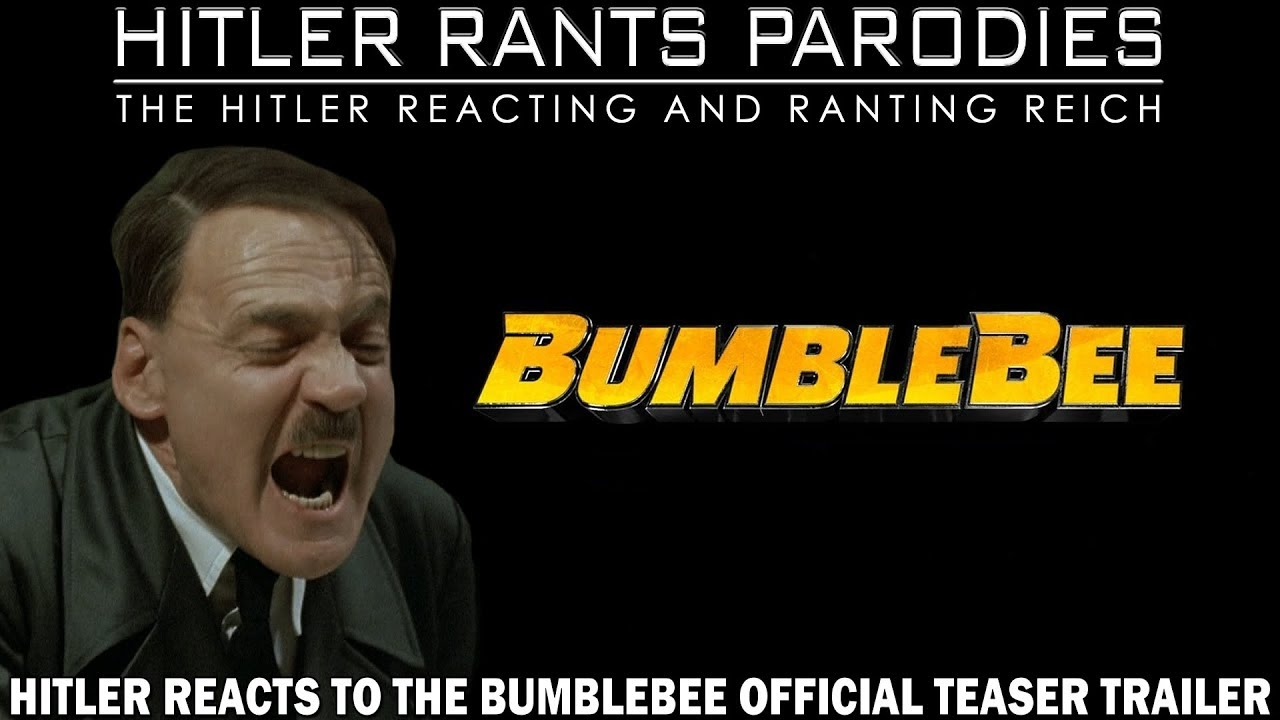 Hitler reacts to the Bumblebee Official Teaser Trailer