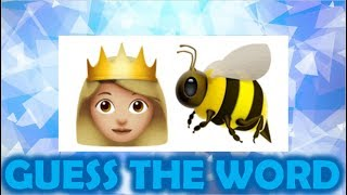 CAN YOU GUESS THE WORD BY THE EMOJI? {90% FAIL}