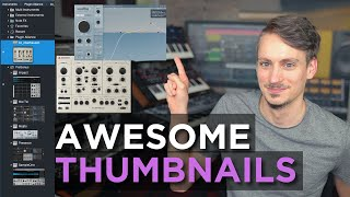 How to create awesome VST Plugin Thumbnails in Studio One