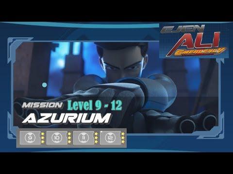 Ejen Ali Emergency : Mission Azurium Level 9-12    Gameplay Walktrough