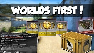 WORLDS FIRST GLOVES UNBOXING FROM NEW CLUTCH CASE ASTRALIS 200 IQ STRAT TWITCH CLIPS