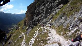 La Varda. Freeride Singletrack MTB French Alps
