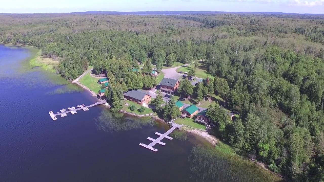 Tall Pines Camp Fishing Resort in Perrault Falls Ontario Canada