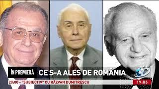 In premiera - Ce s-a ales de Romania