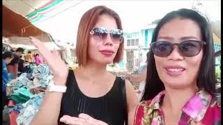 Yna's birthday tour of the Hinoba-an market