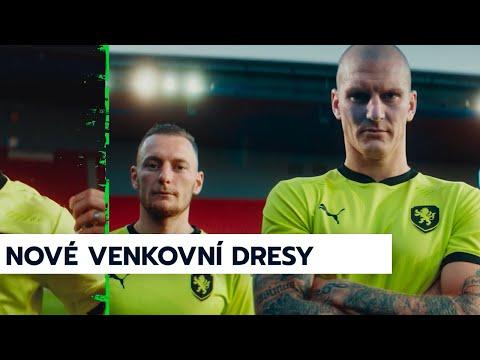 Nové venkovní dresy reprezentace – inspirované českými odkazy pro nastupující generaci