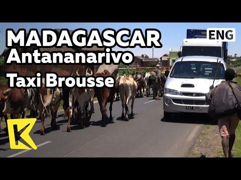 【K】Madagascar Travel-Antananarivo[마다가스카르 여행-안타나나리보]택시 브루스/Taxi Brousse/Transportation/Bus/Road