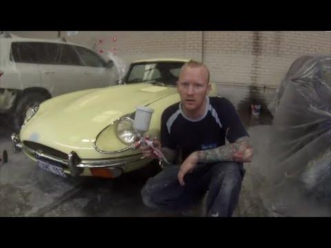"""E-Type Jaguar How to """"Spot Repair"""""""