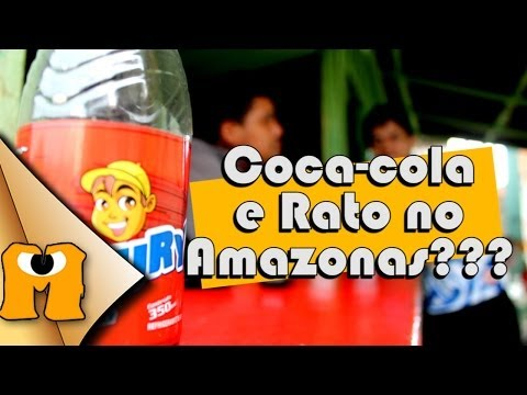 Rato na Coca-cola no Amazonas??? TRAVEL_VIDEO