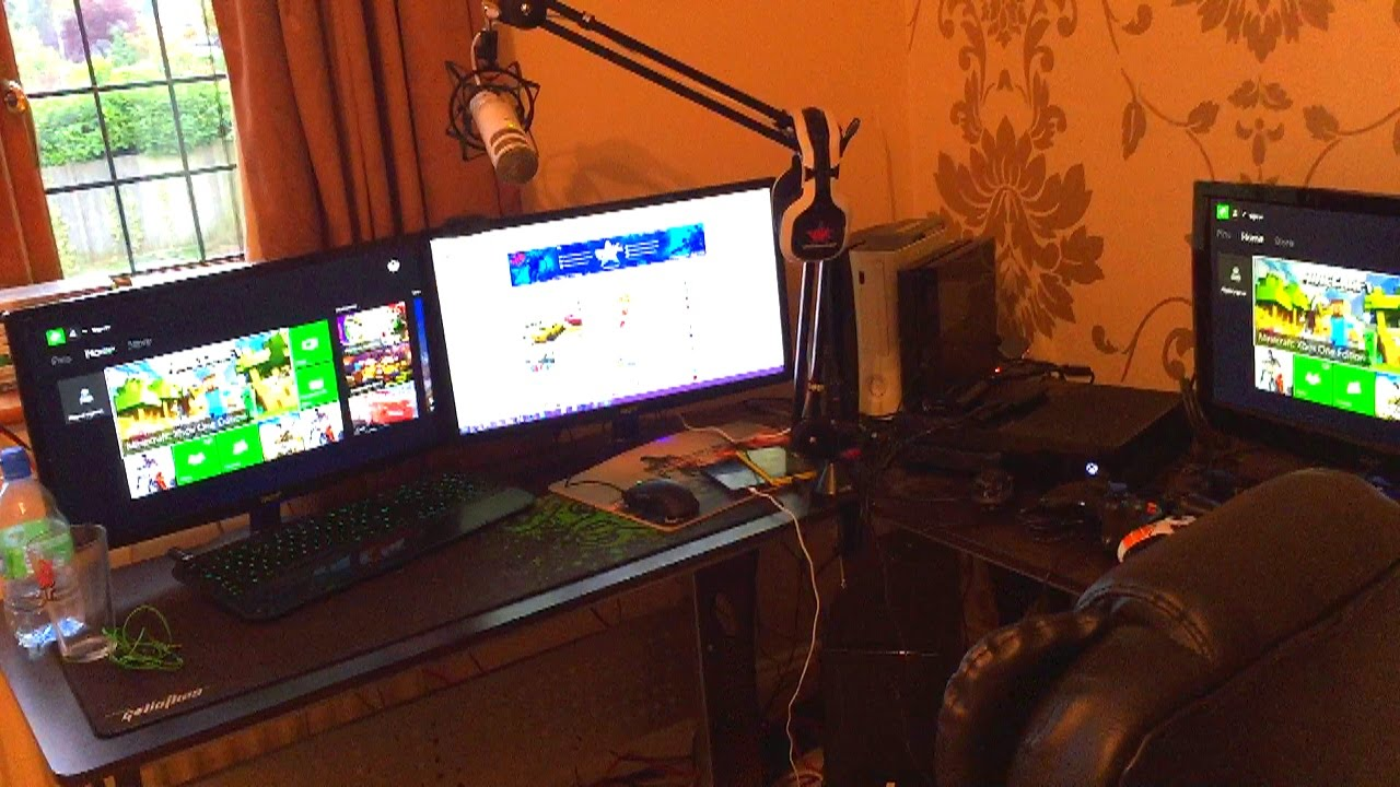 Vikkstar Room Tour Gaming Setup Video Giveaway Youtube