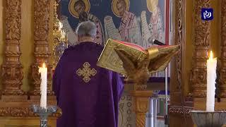 كنائس تقيم صلوات أسبوع الآلام المقدس دون مصلين (17/4/2020)