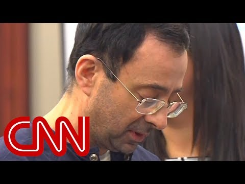 Larry Nassar speaks to his victims