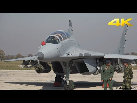 Fleet Upgrade 6 x MiG 29 Serbian Air Force - 4K - Gift from RUSSIA