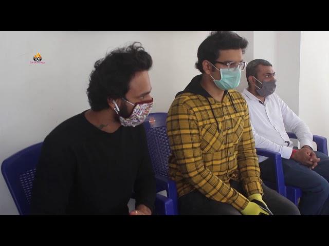 Naitik Nagda, Bhavya Gandhi, Geeta Jain Dhirya Vallabh Muni Inaugurated Ayurvedic Immunity Booster