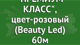 КЛИП ЛАЙТ- СВЕТОДИНАМИКА ПРЕМИУМ КЛАСС, цвет-розовый (Beauty Led) 60м обзор CLK-EST600-10-1P
